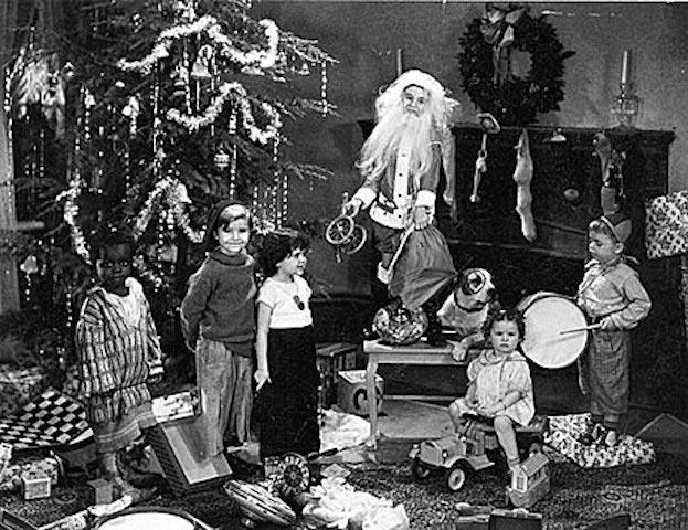enfants-Père-Noël