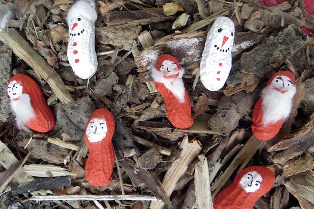 personnages cacahouètes