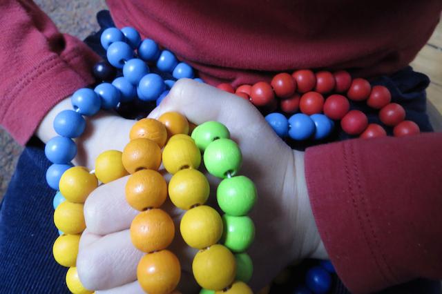 toucher-perles