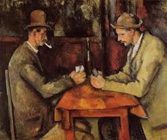 joueurs de cartes Cézanne