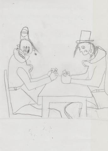 joueuses de cartes
