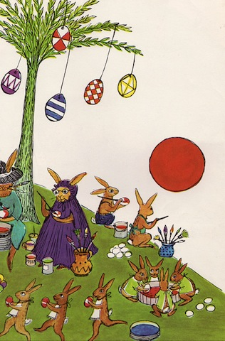 lapins arbre