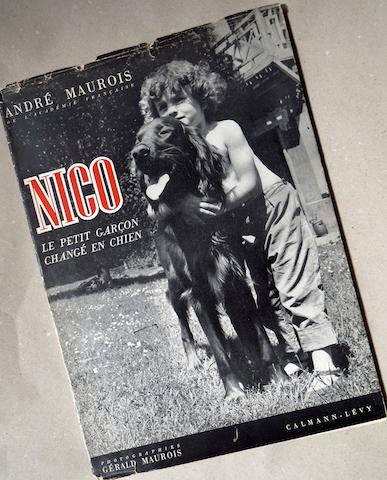 couverture livre nico andre maurois