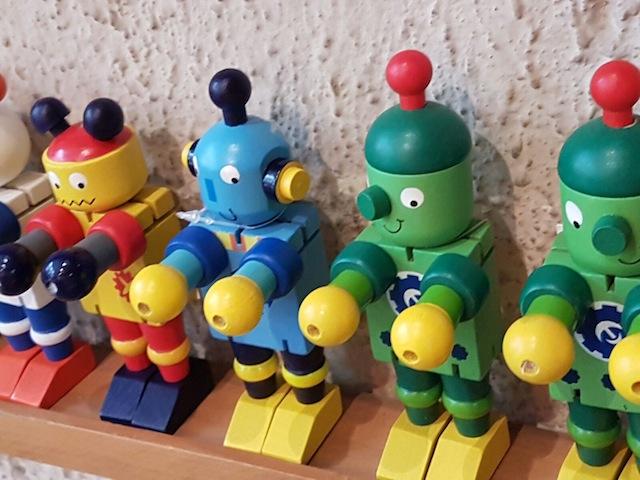 robots bois
