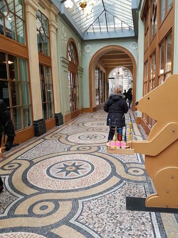La galerie Vivienne rénovée...
