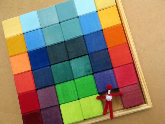 boite cubes grimms