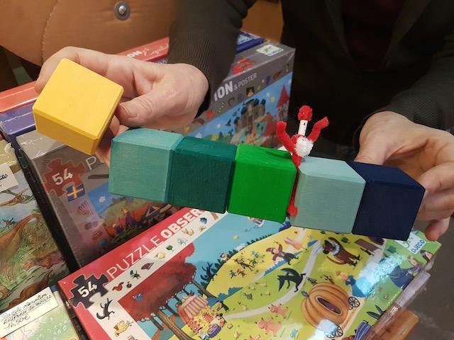 cubes mains