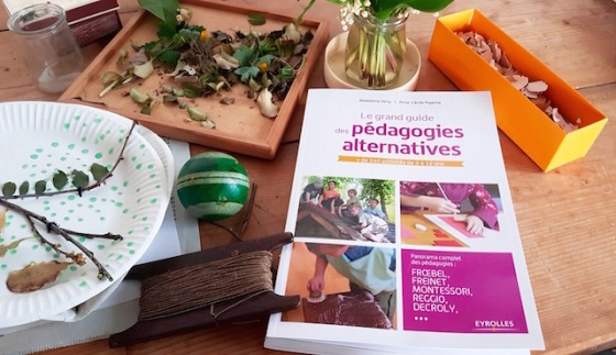 couverture guide pédagogies alternatives